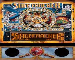 Bally/Midway Safe Cracker Pinball Machine 1996