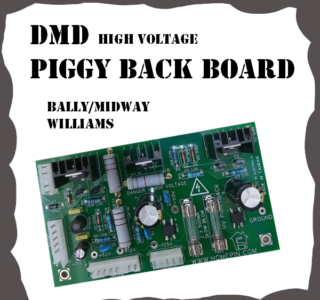 WMS DMD Piggy Back PCB