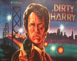 Williams Dirty Harry 1995 Pinball Machine