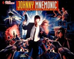 Williams Johnny Mnemonic Pinball Machine 1995
