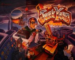 Williams Junk Yard Pinball Machine 1996