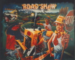 Williams Red and Teds Road Show Pinball Machine 1994