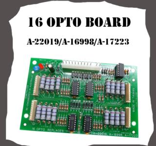 16 Opto Board A-22019 A-16998 A-17223