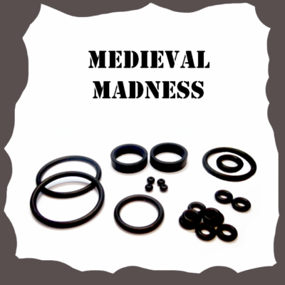 Williams Medieval Madness Rubber Kit