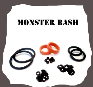 Williams Monster Bash Rubber Kit