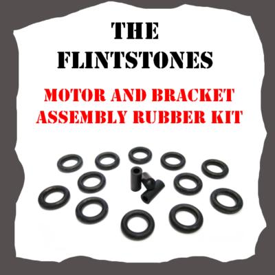 Williams The Flintstones Motor and Bracket Assembly Rubber Kit