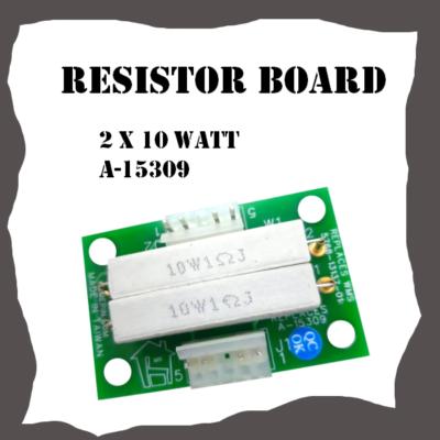 Resistor Board 2x10W WMS A-15309