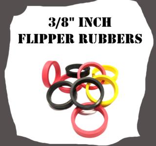 """3/8"""" Inch Flipper Rubbers"""