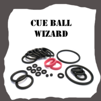Gottlieb Cue Ball Wizard Rubber Kit