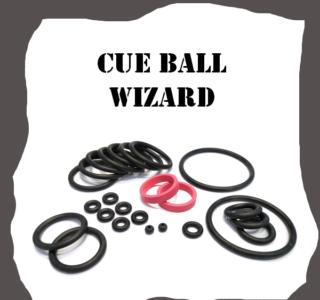 Gottlieb Cue Ball Wizard Rubber Kit