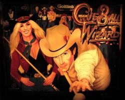 Gottlieb Cue Ball Wizard Pinball Machine 1992