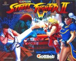 Gottlieb Street Fighter 2 Pinball Machine